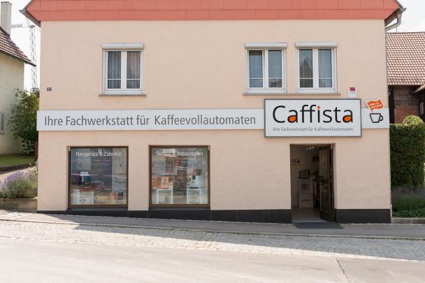 Unser Laden von außen Böblingen für Kaffeevollautomaten