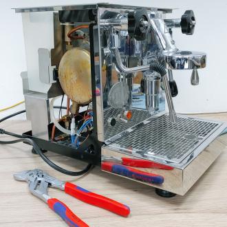 Reparatur einer ECM Mechanika bei Caffista Calw